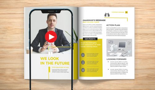 Augmented Reality in Annual Reports